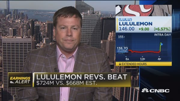 Lululemon soars on blowout same store sales growth