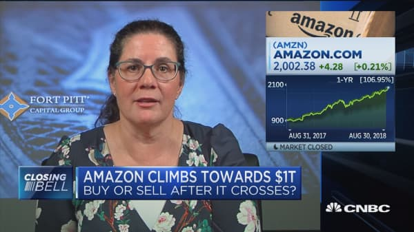 Amazon climbs toward $1 trillion: Buy or sell after it crosses?