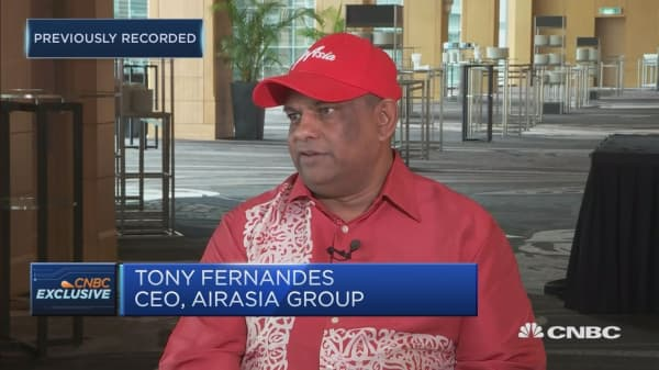AirAsia CEO: Definitely facing some headwinds with oil