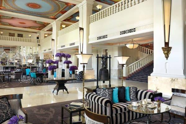 The lobby of AnantaraSiam Bangkok Hotel, part of the Minor International corporation