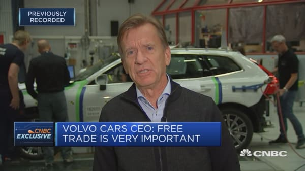 Trump's latest tariff threats will be even more disruptive to Europe's auto industry, Volvo Cars CEO says