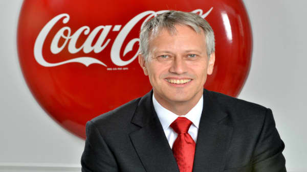 Coke CEO to CNBC: Costa's bringing coffee, we're bringing global scale