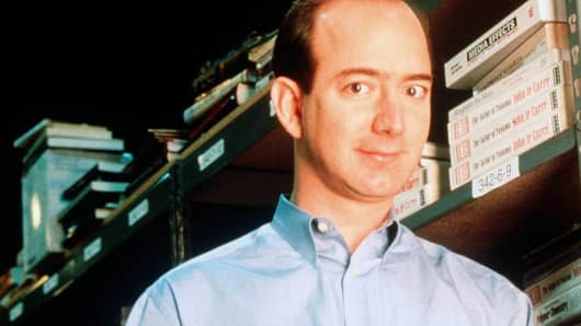 Amazon founder and CEO Jeff Bezos in 1997