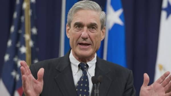 Two prosecutors have left special counsel Robert Mueller's team