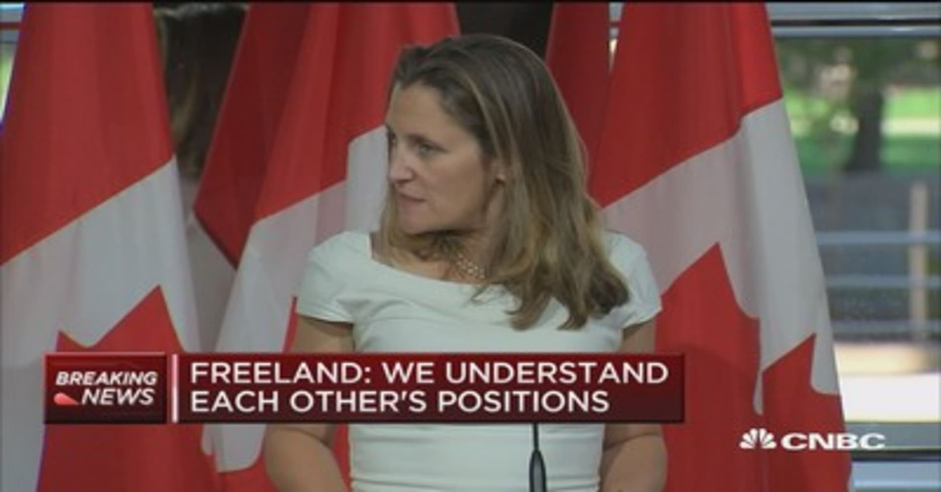 Canada foreign minister: Steel and aluminum tariffs are 'absurd' and  'illegal'