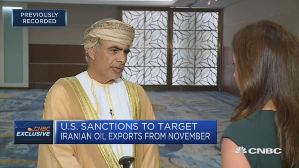 Omani oil minister: Middle East is not in a stable position right now