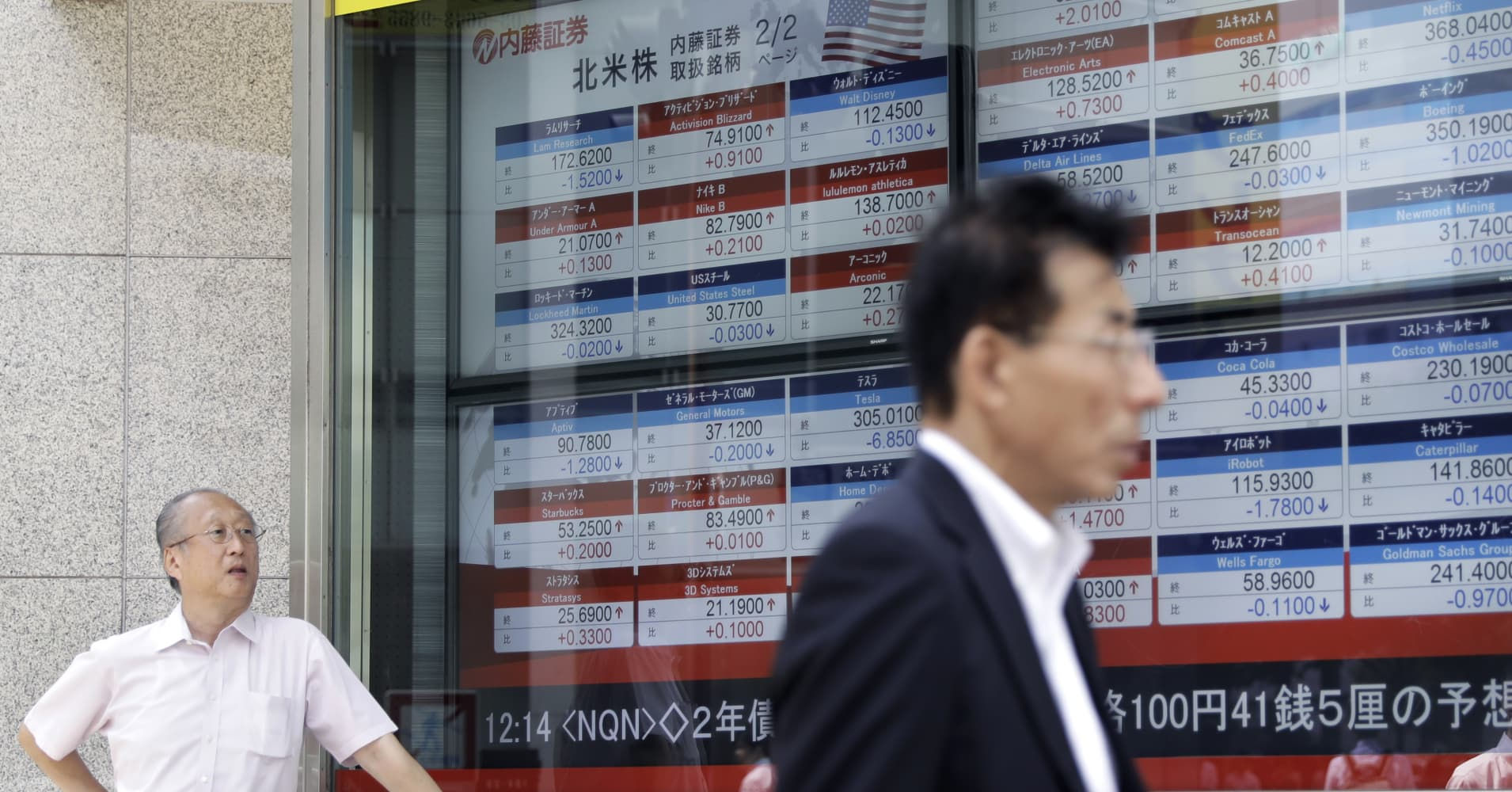 Asia markets fall as US-China tensions get worse; oil prices surge