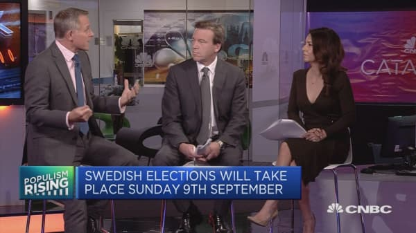 Sweden heads to polls Sunday, electing a new government