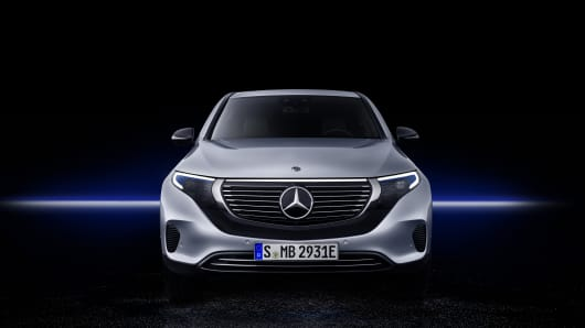 Mercedes just launched its first all-electric SUV as it looks to take on Tesla