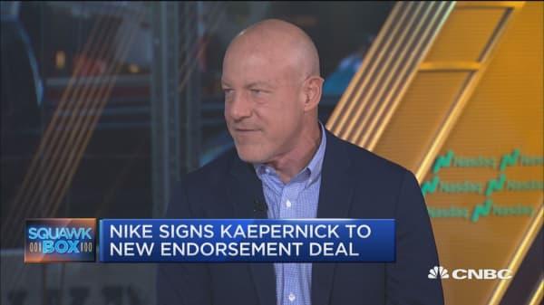 Nike featuring Kaepernick 'a bold move,' says expert