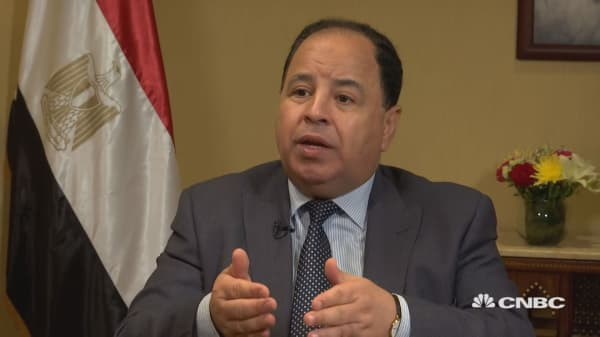 Egypt's finance minister: Political instability, US trade war worrying