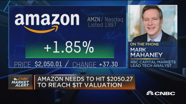 Amazon's risks are regulation, competition, businesses maturity, says RBC's Mahaney