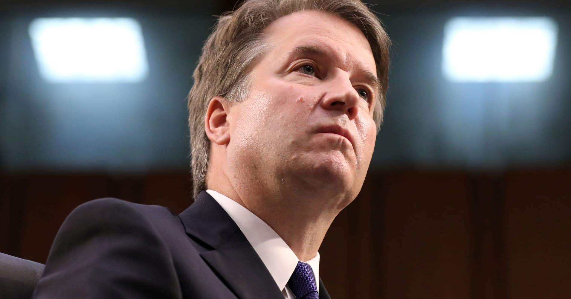 Brett Kavanaugh's accuser breaks silence on misconduct allegation