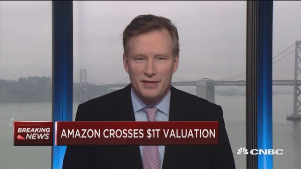 Analysts raise price target for Amazon after company hits $1T valuation
