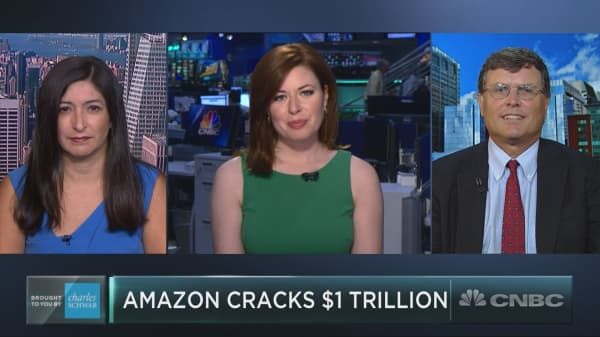 As Amazon cracks $1 trillion, strategist issues a warning on the stock