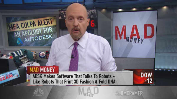 Cramer says Autodesk call 'a huge mistake'