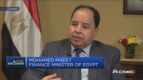 Egypt finance minister: We recognise we have high level of debt
