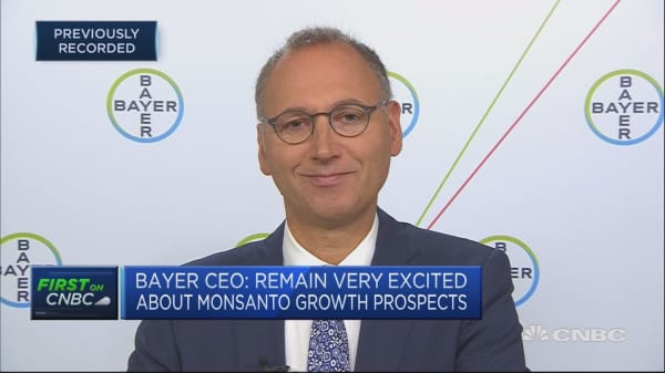Bayer CEO says he's confident for the future after earnings miss