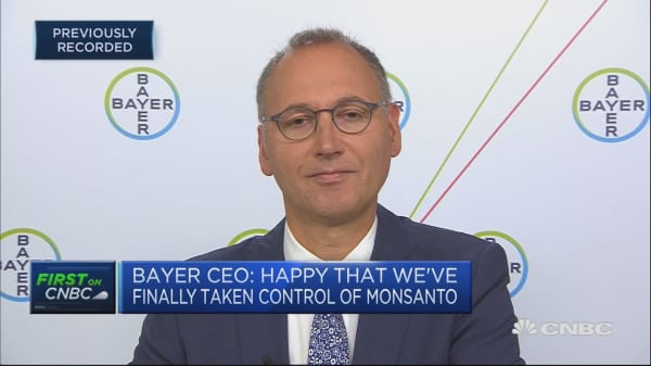 Bayer CEO: Looking at where we can improve performance
