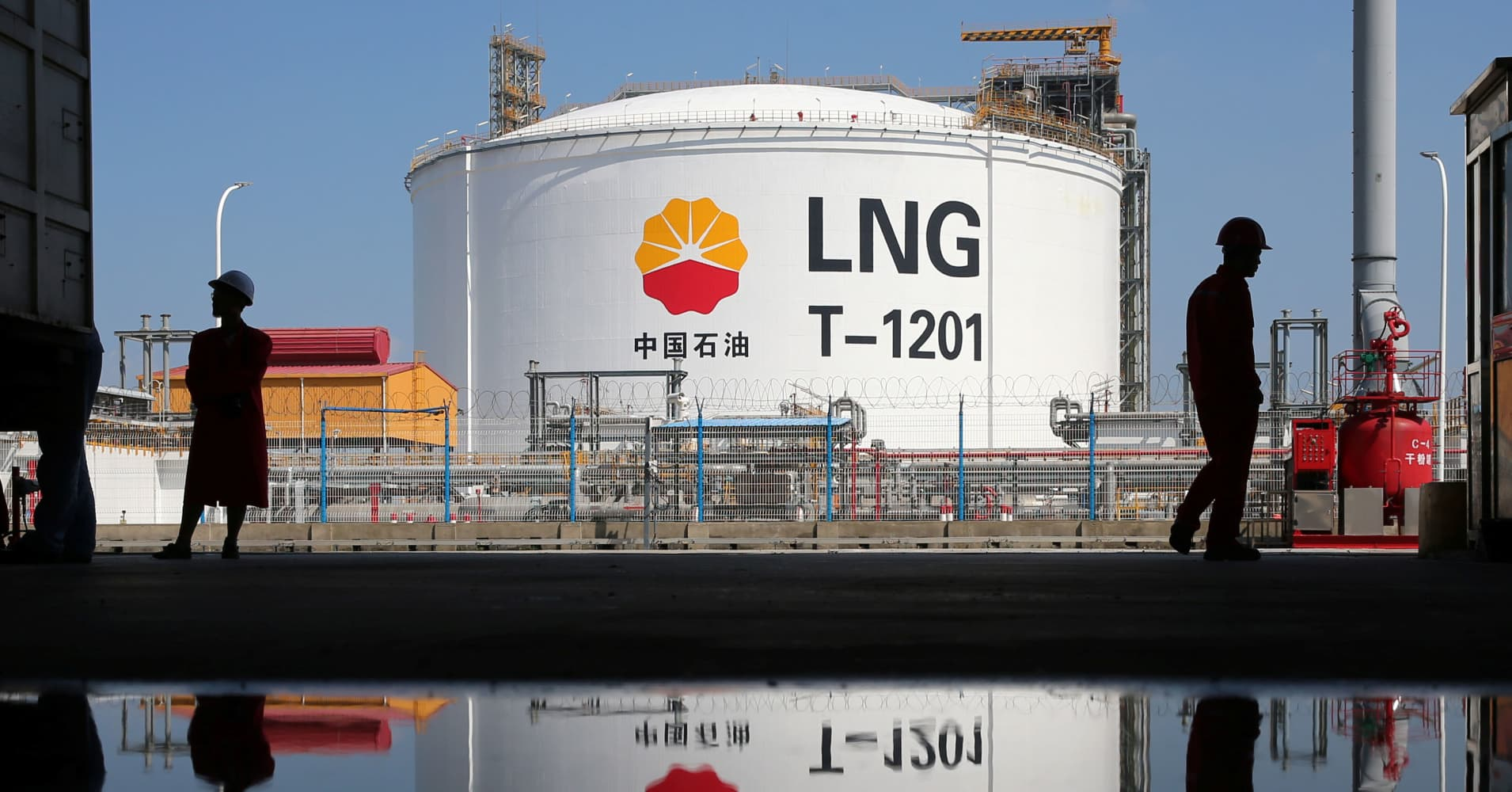Asia's natural gas prices are rising. Now higher oil prices and tariffs could cause more pain