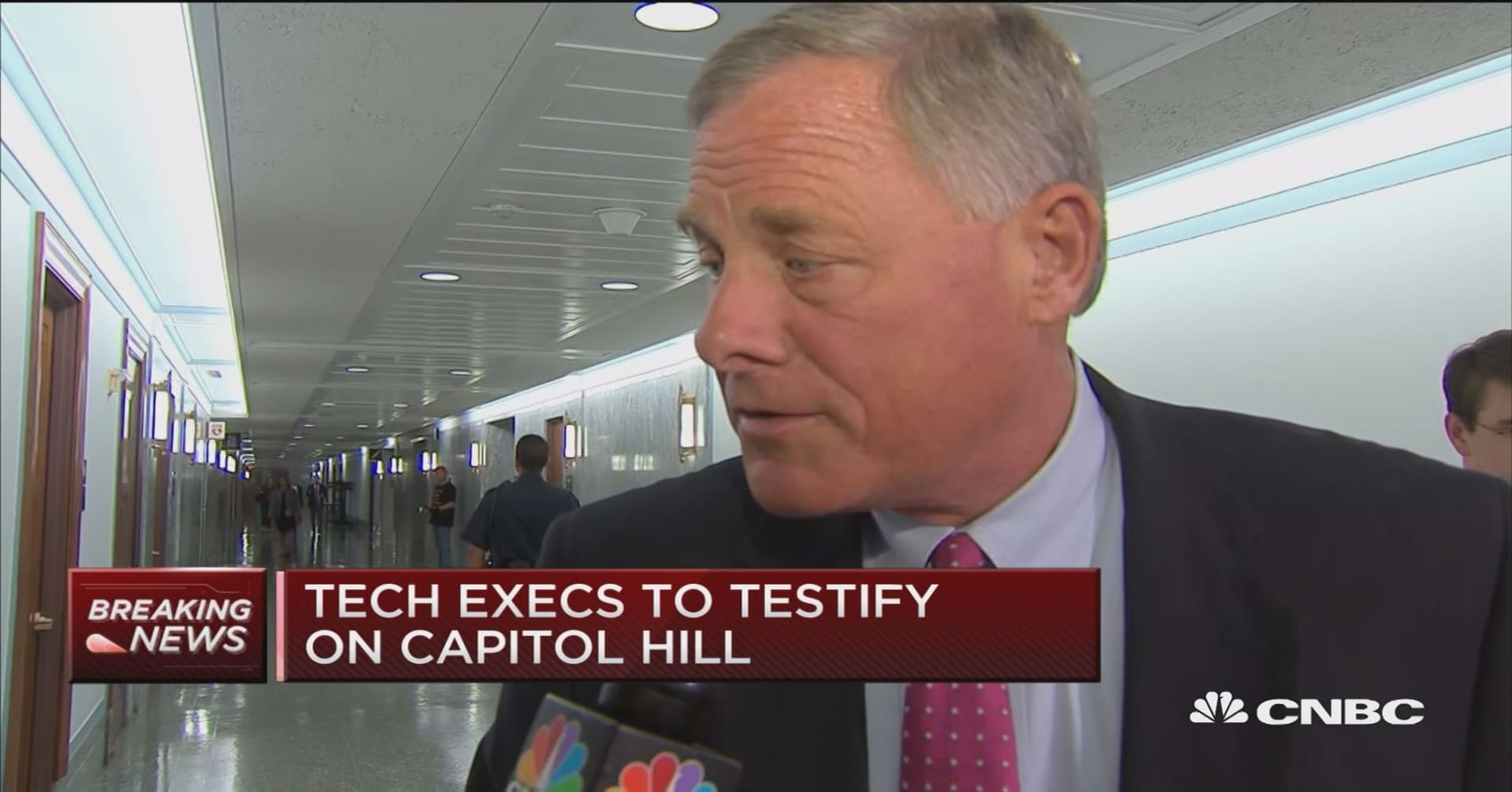 GOP Sen. Richard Burr on social media hearings: It's hard to 'legislate around' the First Amendment