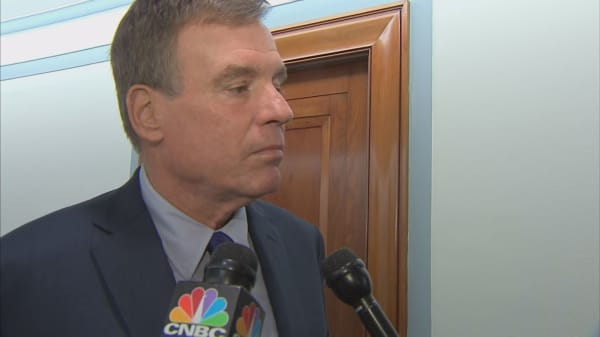 Sen. Warner: Disappointed that Google chose not to participate