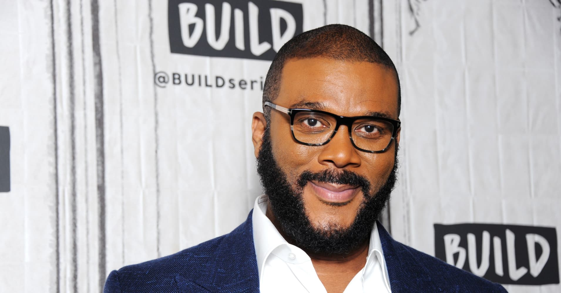 Director, producer and actor Tyler Perry attends Build Series to discuss the film 'Acrimony' at Build Studio on March 26, 2018 in New York City