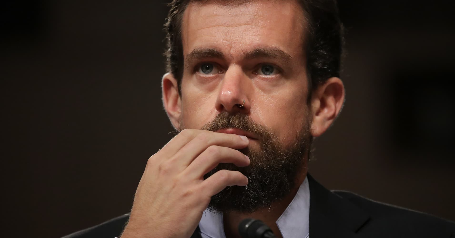Twitter Sheds Another 6% Following CEO Jack Dorsey's Testimony in Washington