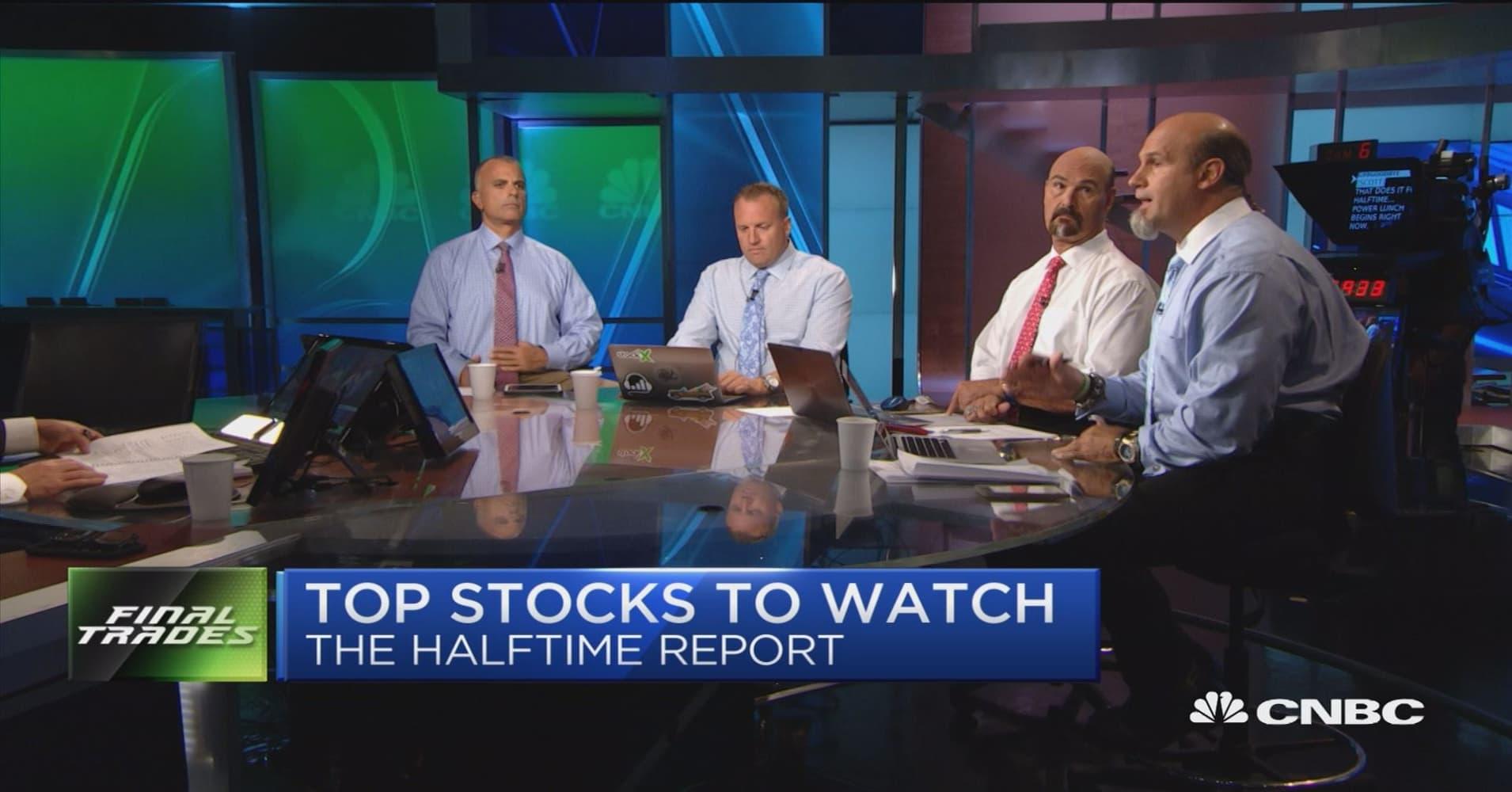 Final trades: Northrop Grumman, JPMorgan, Nutanix & AMD