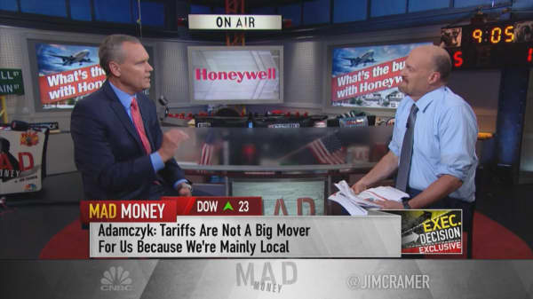 Honeywell CEO: Amazon boosting Honeywell's business 'at the right time'
