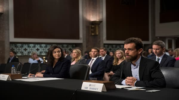 Twitter and Facebook execs grilled on Capitol Hill