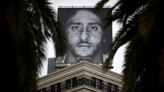 Nikes Online Sales Surge In Days After Kaepernick Ad Debut