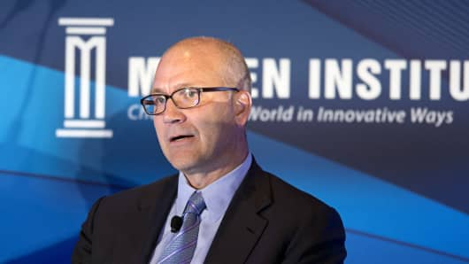 Jamie Forese, President of Citigroup Inc. and head of the institutional clients group, speaks at the Milken Institute Asia Summit in Singapore, on Friday, Sept. 19, 2014. Chief executive officers, senior government officials and leading figures in the global capital markets convened at the global conference's inaugural summit in Asia.