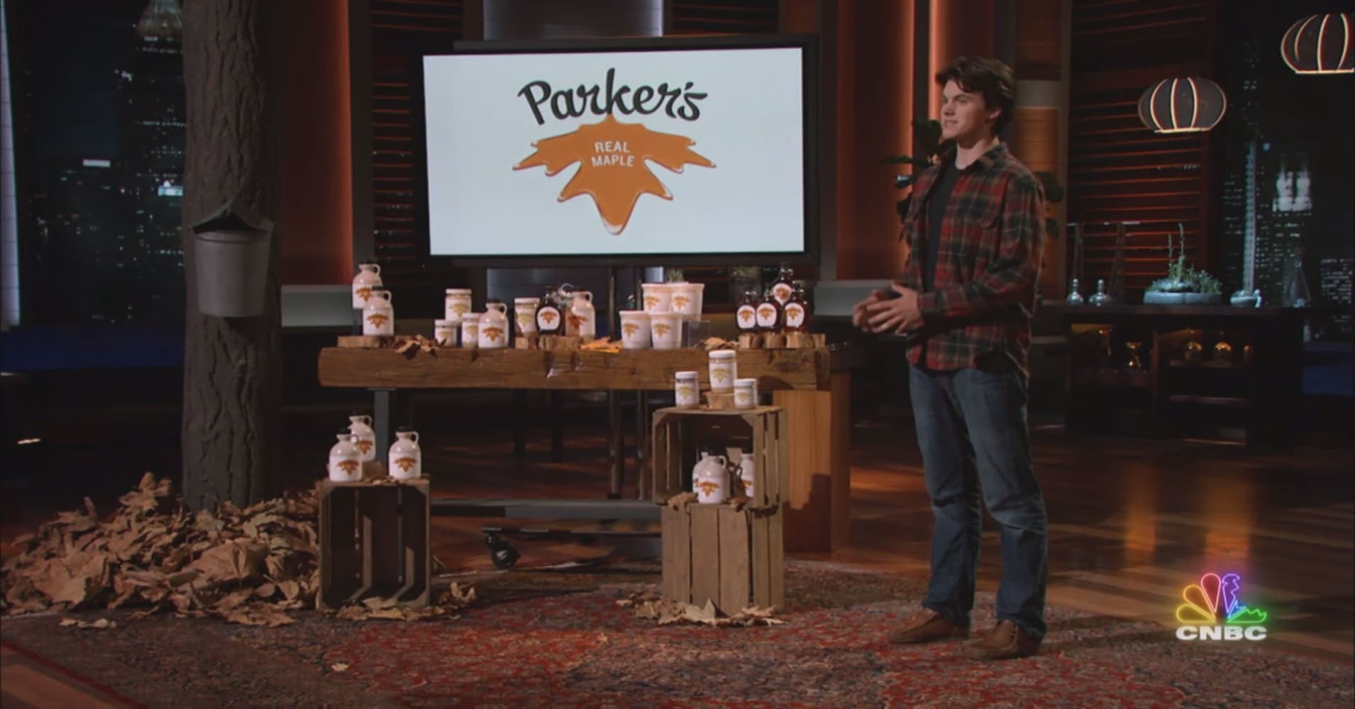 1a24d7aabb4 This young entrepreneur brings a new twist to the maple syrup industry on  Shark Tank