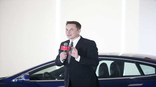 Tesla's Elon Musk retweets favorable sales report