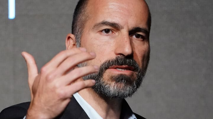Uber stock hits a new all-time low as shares continue to slide following $5 billion Q2 loss