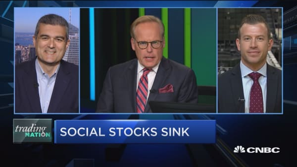 Trading Nation: Social stocks sink