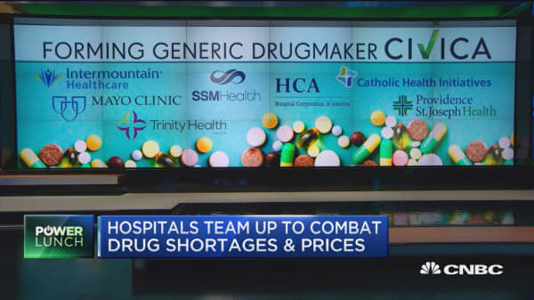 Hospitals team up to combat drug shortages and prices