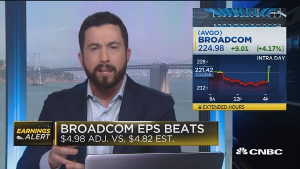 Broadcom third quarter earnings