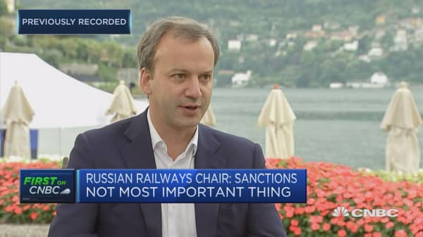 Russian Railways chairman: Despite the sanctions, we are increasing trade with Europe