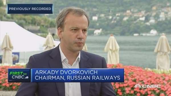 Russian Railways chairman: We're in a much more sustainable pace of growth