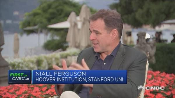 Niall Ferguson: Battle between Washington, Silicon Valley to continue