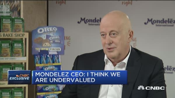 Mondelez CEO: Earnings growth will slow in 2019