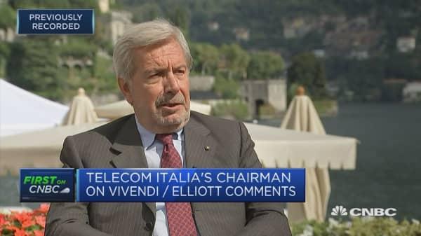 Telecom Italia chairman: CEO Genish right man to do the job