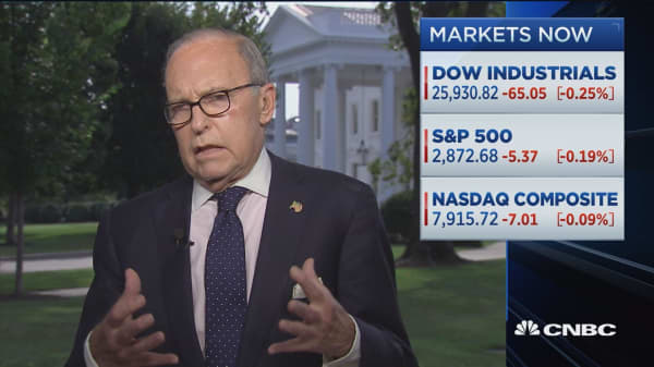 NEC's Kudlow: We're trying to get China to 'just say yes' to one of our asks