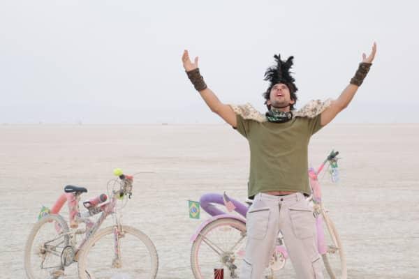 Agustini at Burning Man