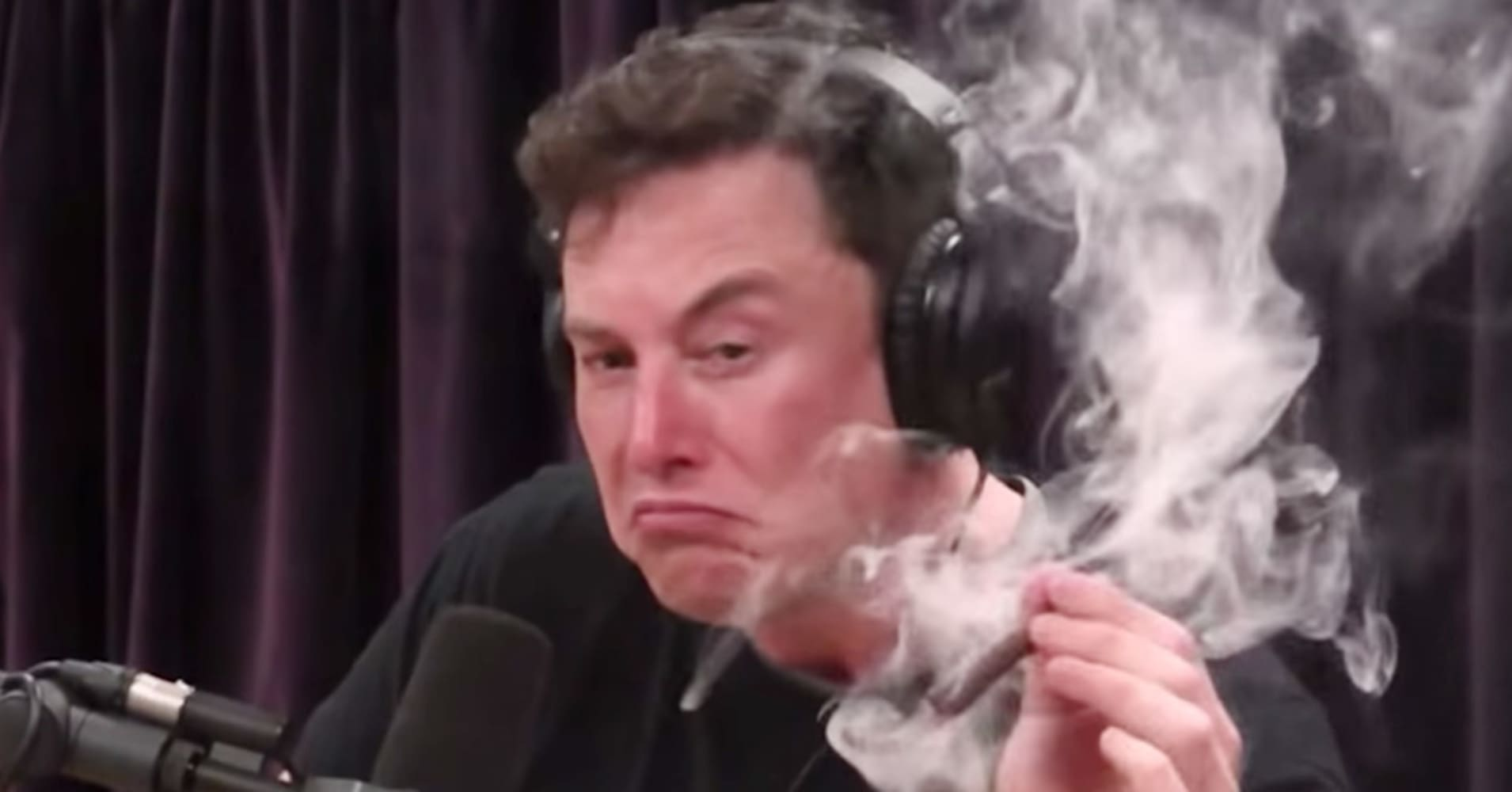 Image result for elon musk smoke