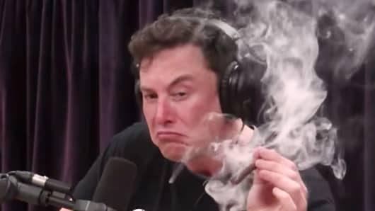 Elon Musk May Have Violated Tesla Conduct Policy By Smoking Weed Stunning Download Smoking Wan Quotes