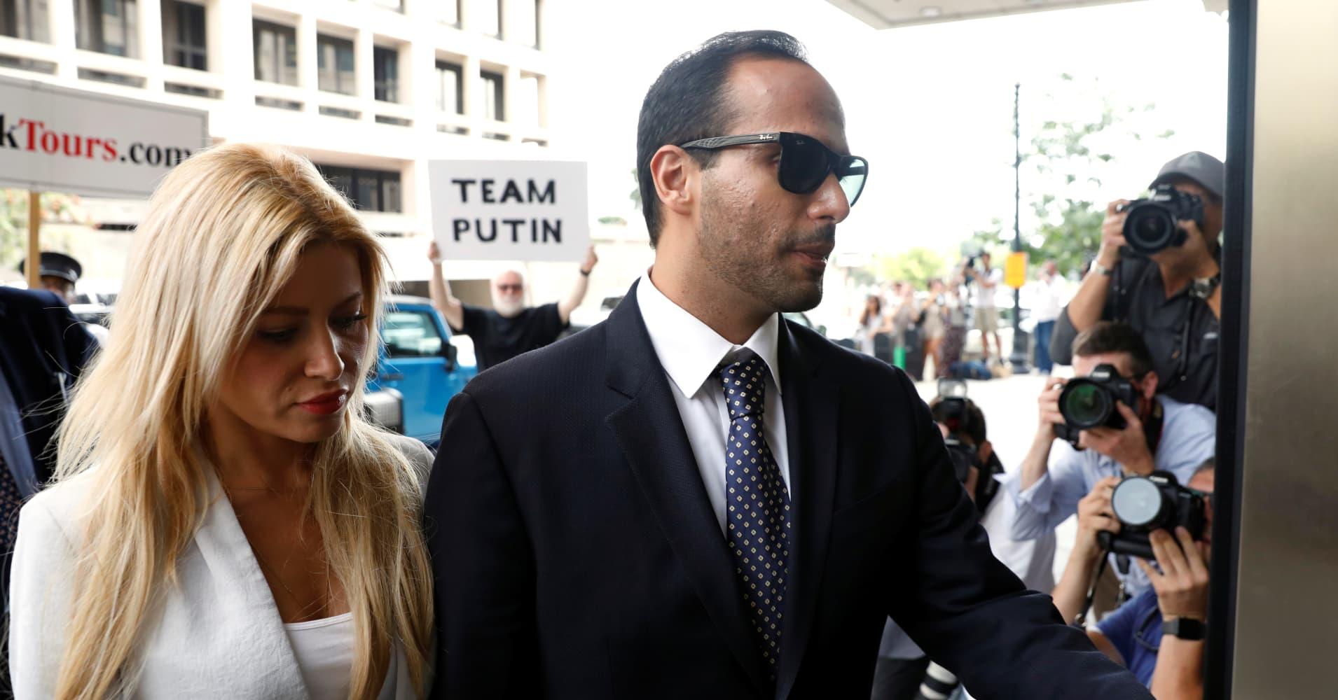 Former Trump campaign adviser Papadopoulos loses bid to delay prison term, must surrender on Monday