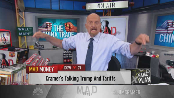 Cramer's game plan: Be ready for another Trump tariff-fueled sell-off